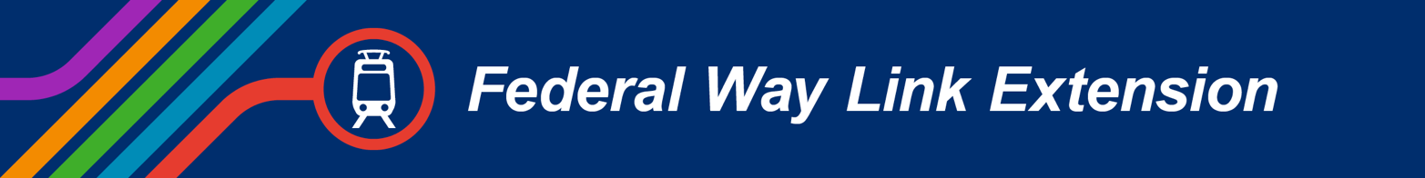 Federal Way Link Extension header